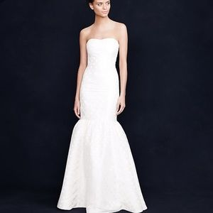 J crew Serena Mermaid Wedding Dress Gown
